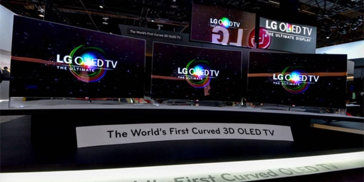 CES 2013: LG también presenta su pantalla curva OLED