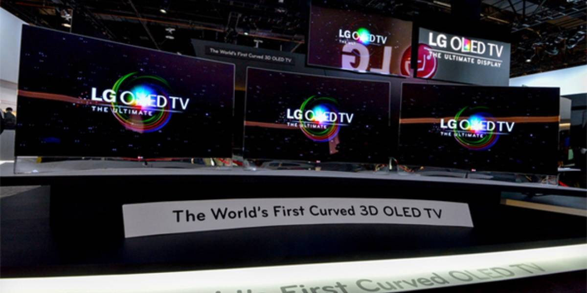 LG comienza a vender OLED curvo en Chile por CLP$5,5 millones