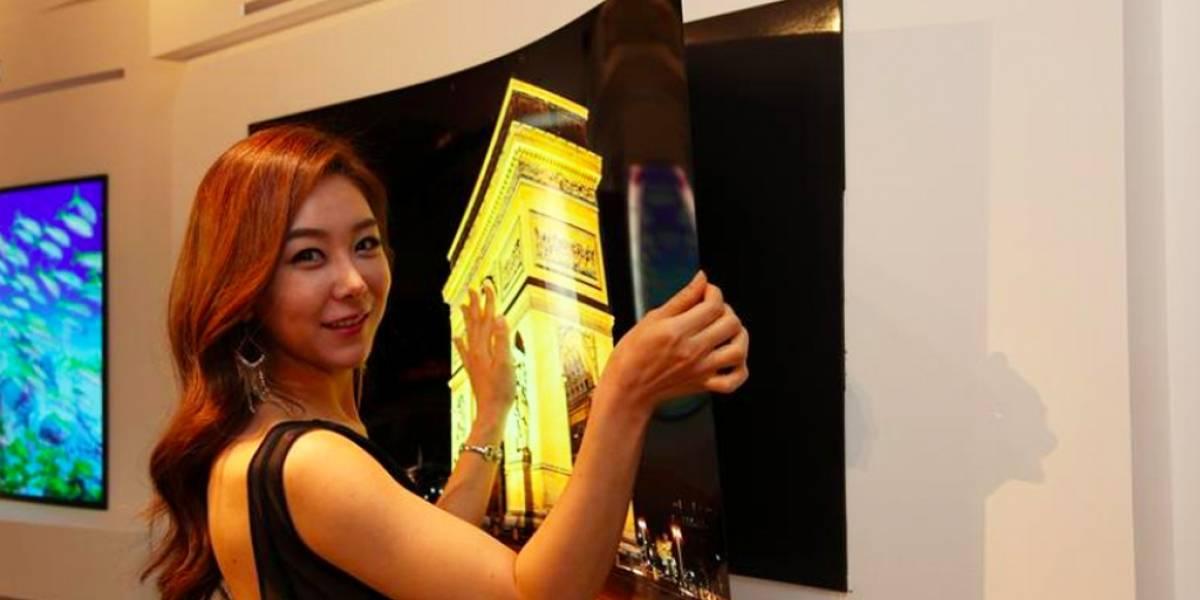 LG crea un panel OLED de menos de 1 milímetro que puedes pegar a la pared