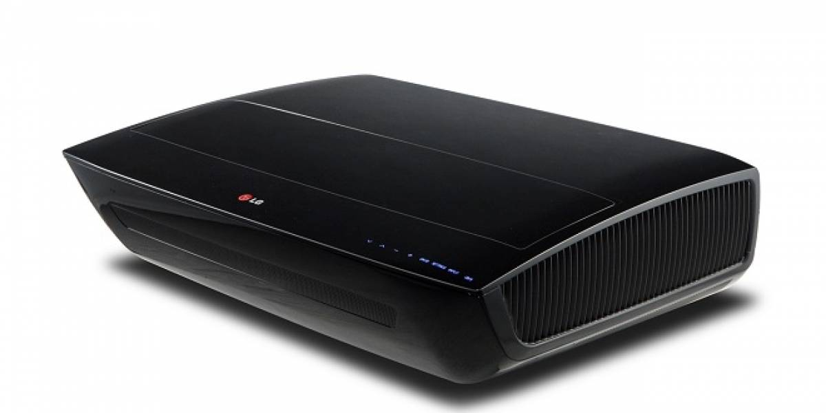 CES 2013: LG oficializa proyector láser que entrega imágenes de hasta 100 pulgadas