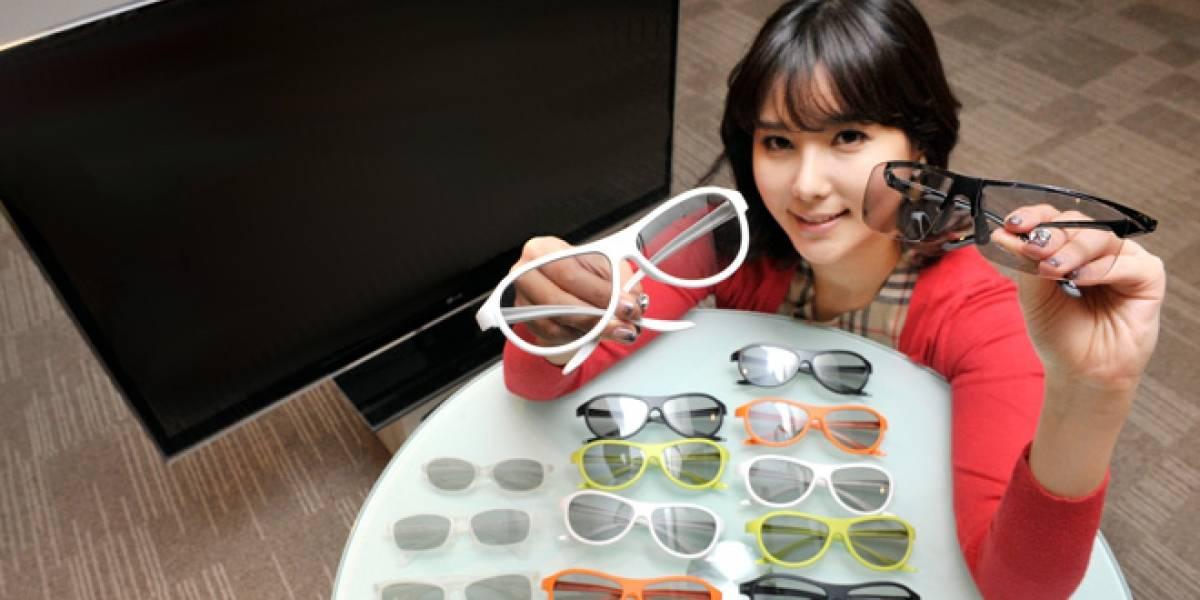"""LG apuesta que gafas """"a la moda"""" nos van a convencer de comprar una TV en 3D"""