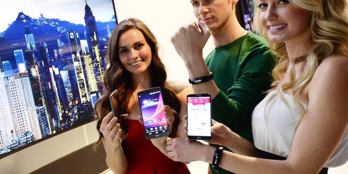 LG Lifeband Touch es el nuevo monitor de actividad de LG #CES2014