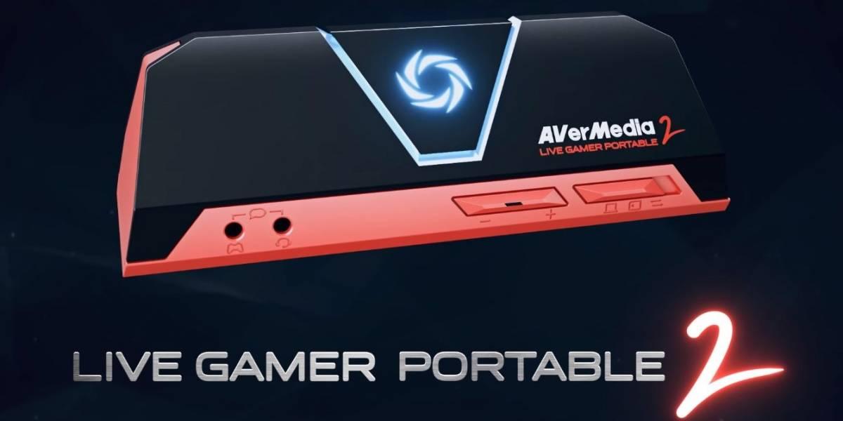 AverMedia lanza su nueva capturadora portátil: Live Gamer Portable 2