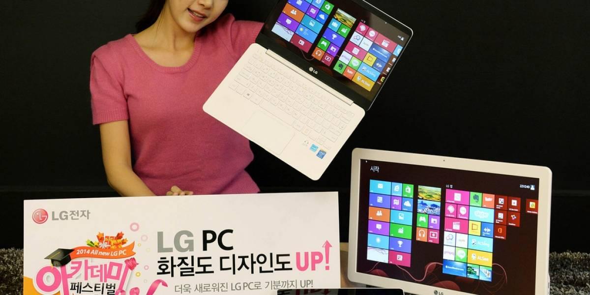 LG revela versión mejorada del Ultra PC, Tab-Book 2 y LG AIO PC #CES2014
