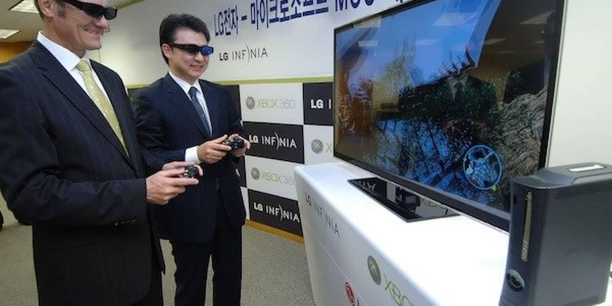 """IFA 2011: LG demuestra su sistema """"Dual Play"""" basado en televisores Cinema 3D y Xbox"""