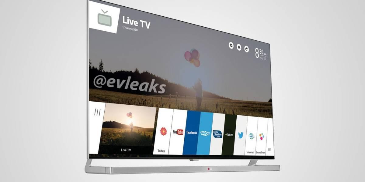 Primera imagen del televisor LG con WebOS