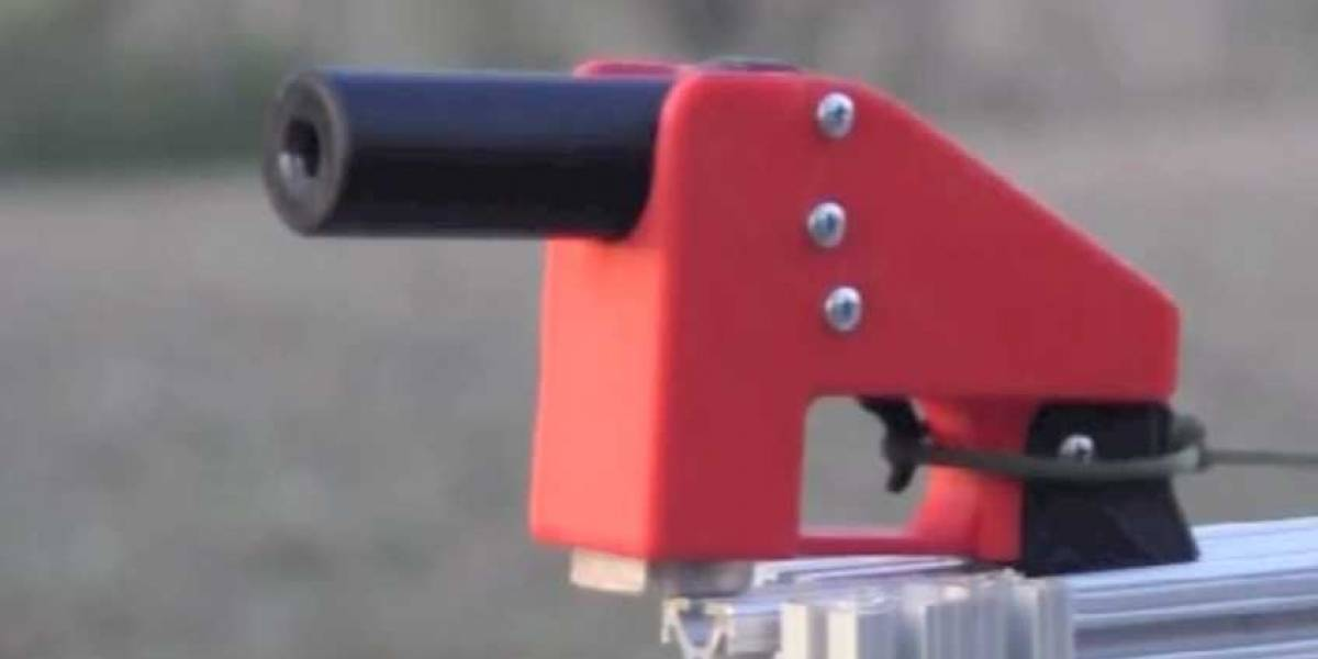 Arma impresa en 3D por US$25 dispara 9 balas