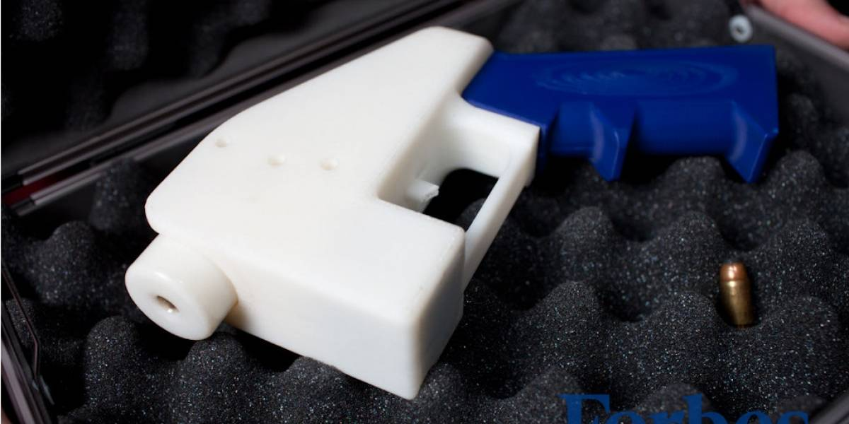 El arma completamente impresa en 3D ya es real
