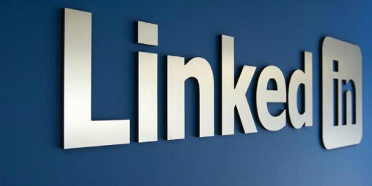 LinkedIn tiene 225 millones de usuarios y ganó USD$22,6 millones en el primer trimestre