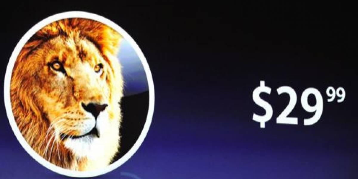 WWDC 2011: OS X Lion costará US$29,99 y sólo se descargará desde la Mac App Store