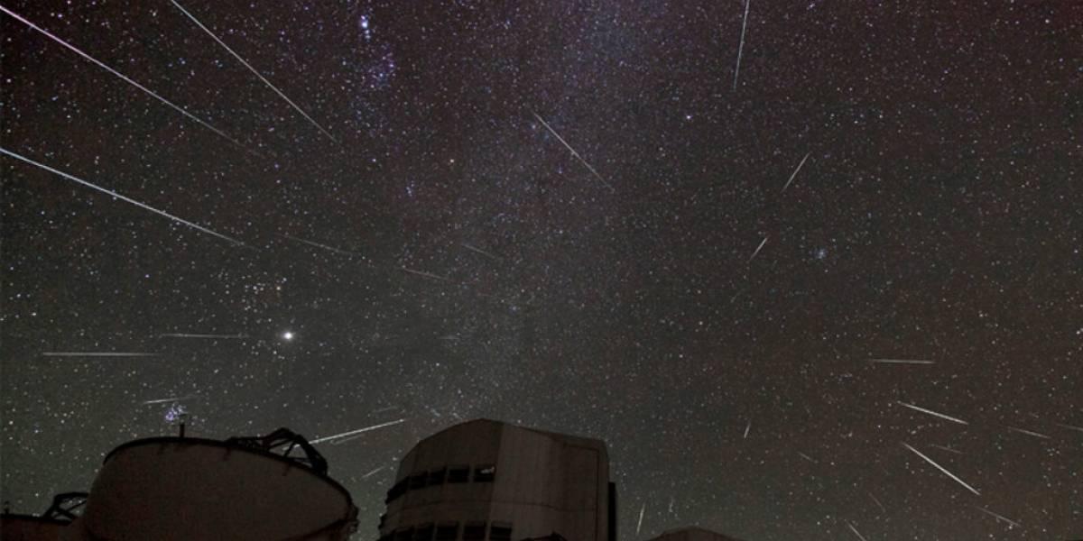 Chilenos podrán disfrutar de la lluvia de estrellas de Gemínidas en observatorios nacionales