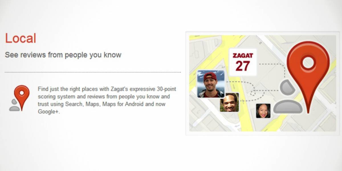 Google Places se fusiona con Google+