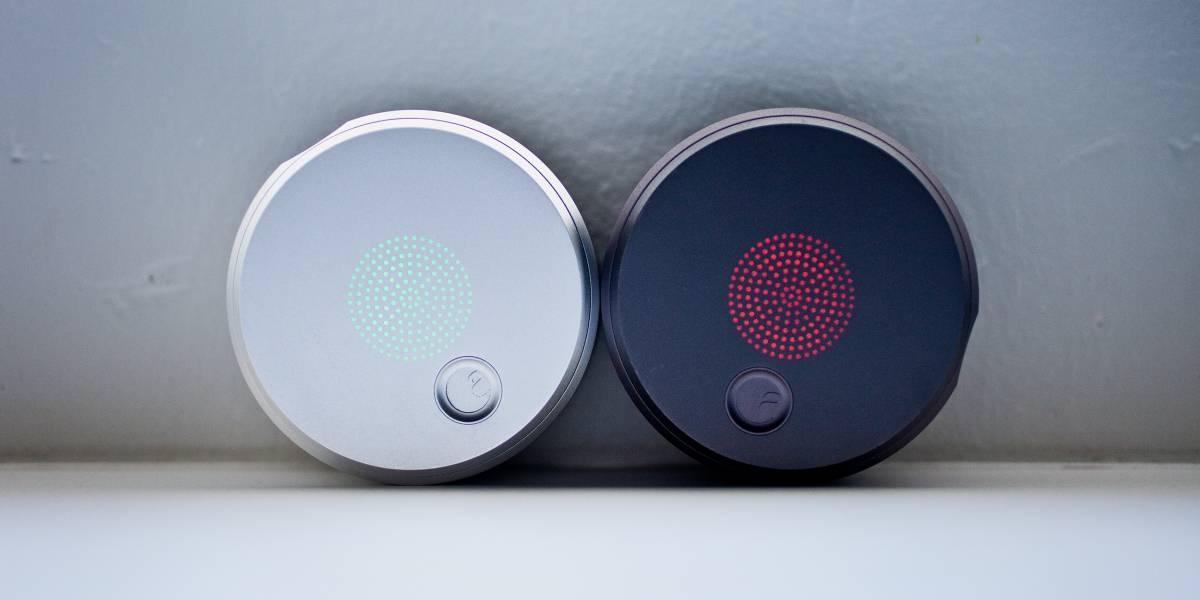 August, el cierre de puertas controlado con smartphones diseñado por Yves Behar