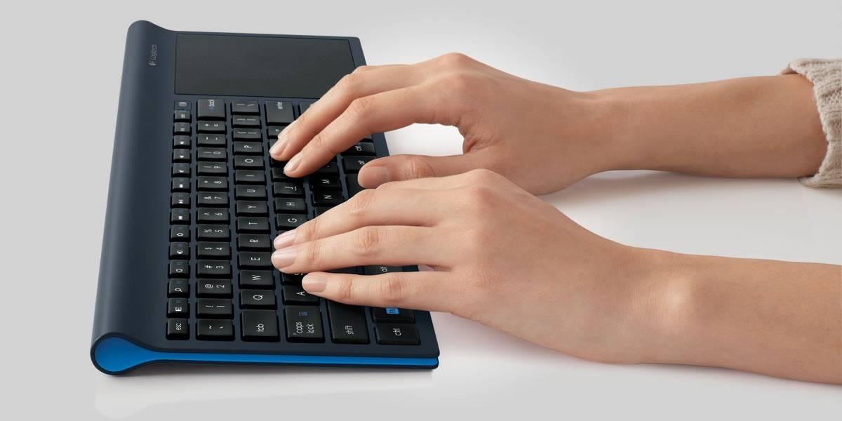 Logitech TK820 une teclado y trackpad multitáctil