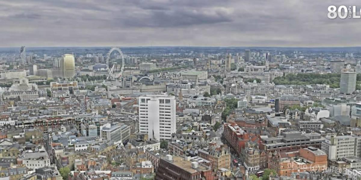Londres en casi 8.000 fotos y 80 gigapixeles es la panorámica más grande del mundo