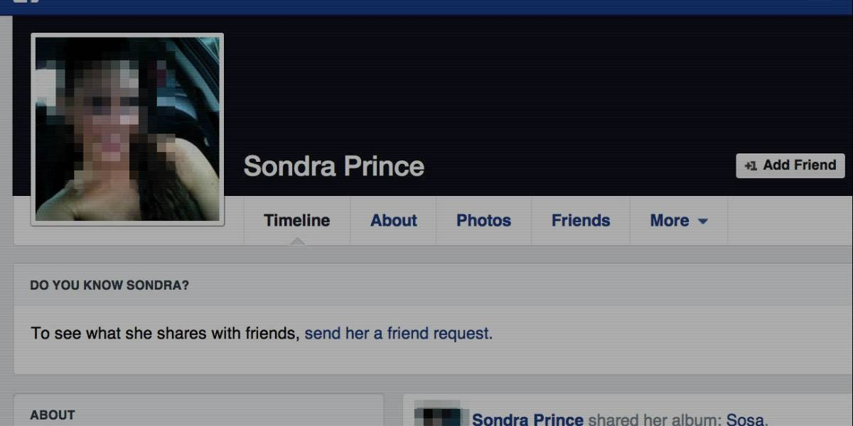 Mujer demanda a gobierno de EE.UU. por crearle perfil falso en Facebook