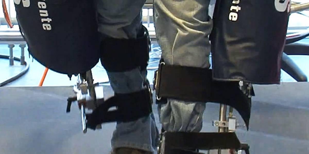 Un exoesqueleto para volver a caminar