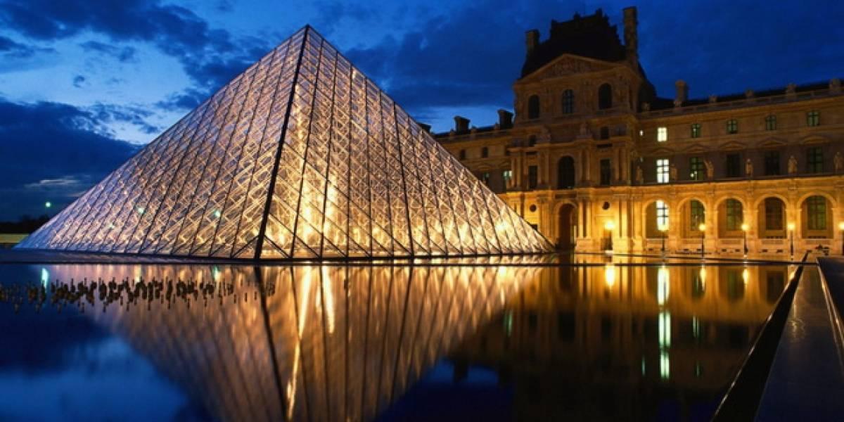 Toshiba desarrolla nueva iluminación LED para el Louvre