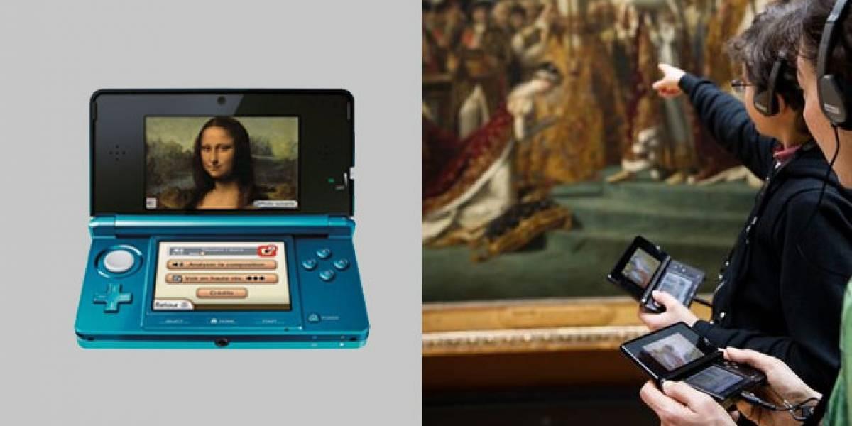 La Nintendo 3DS guiará nuestra visita al Louvre