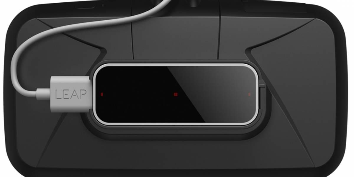 Leap Motion estrena accesorio para integrarse al Oculus Rift