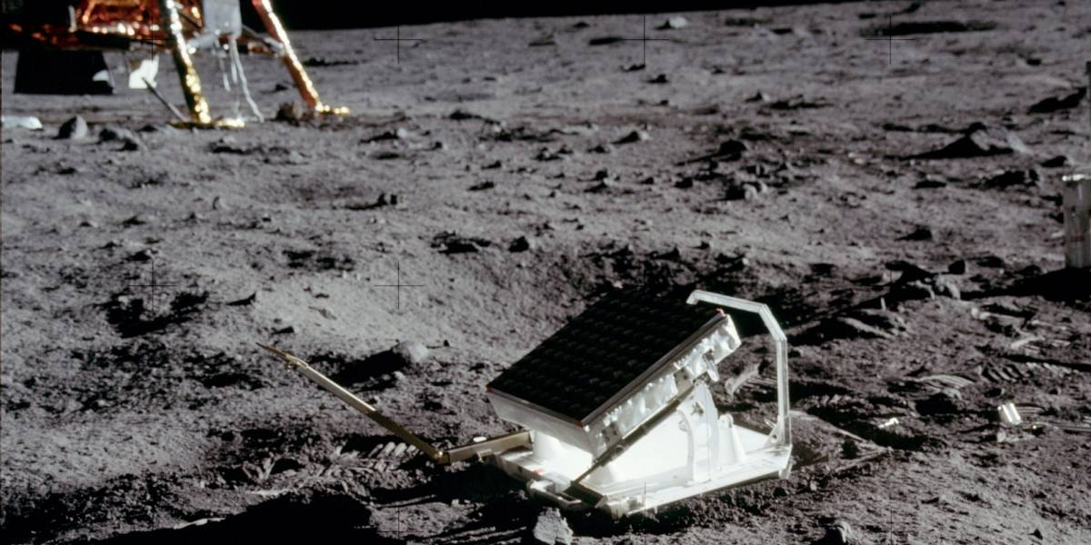 Así funciona LR3, el retrorreflector lunar #Apollo11