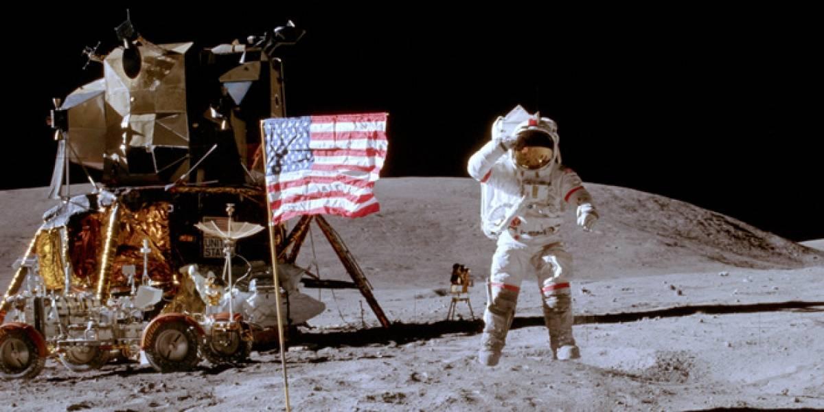 Banderas de EE.UU. todavía estarían en pie en la Luna