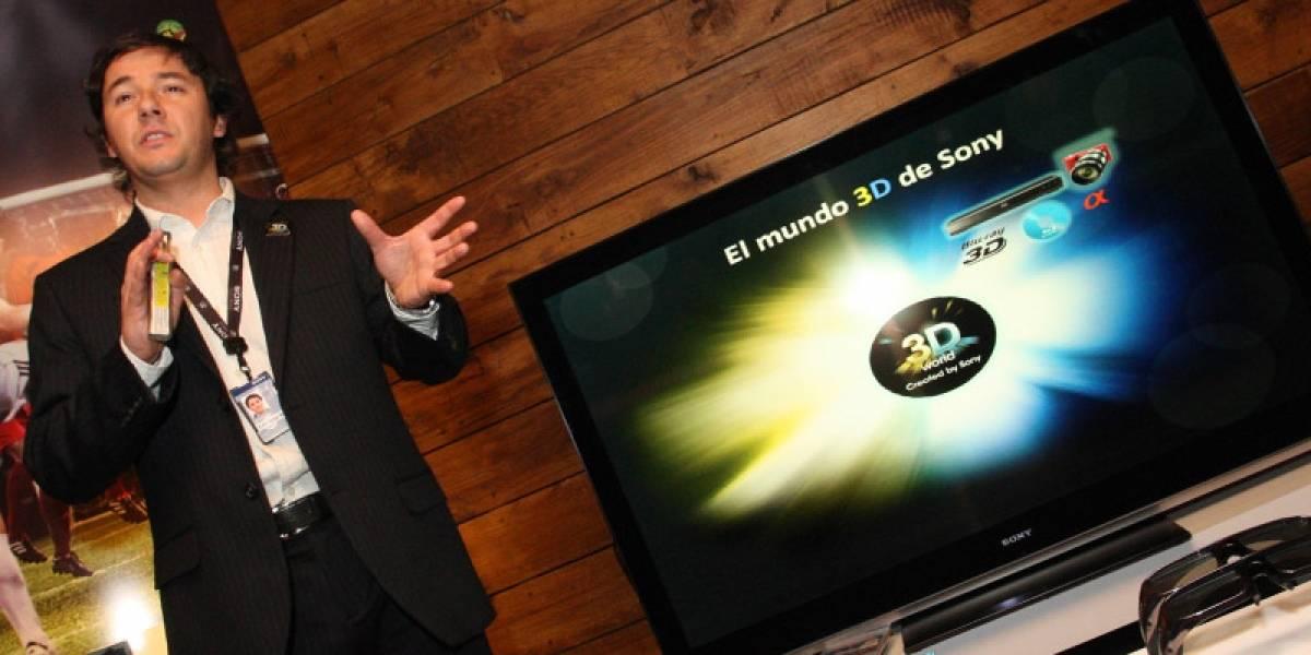 Chile: Desde mañana se podrán comprar televisores 3D de Sony
