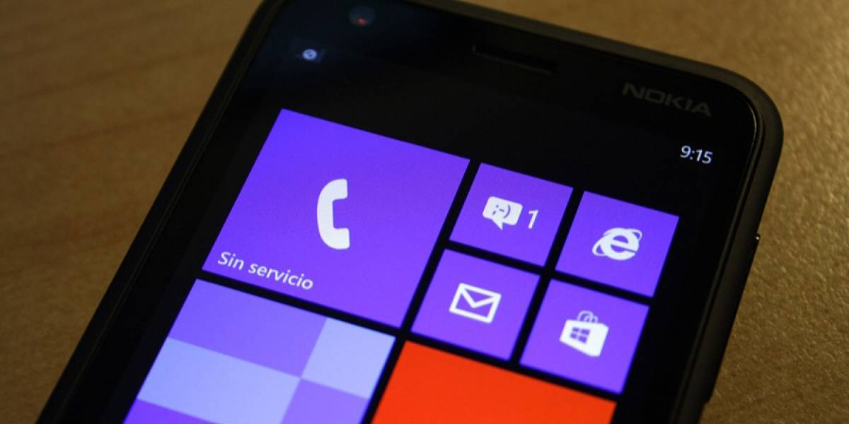 Microsoft dejará a Windows Phone 8 limitado hasta 6 pulgadas