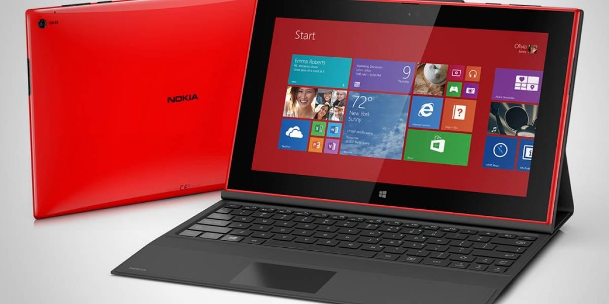 Nokia presenta el Lumia 2520, su primer tablet