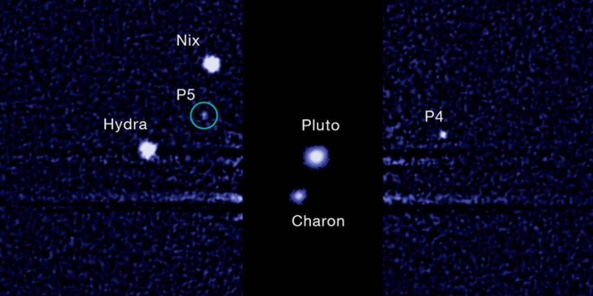 Póngale nombre a las lunas de Plutón