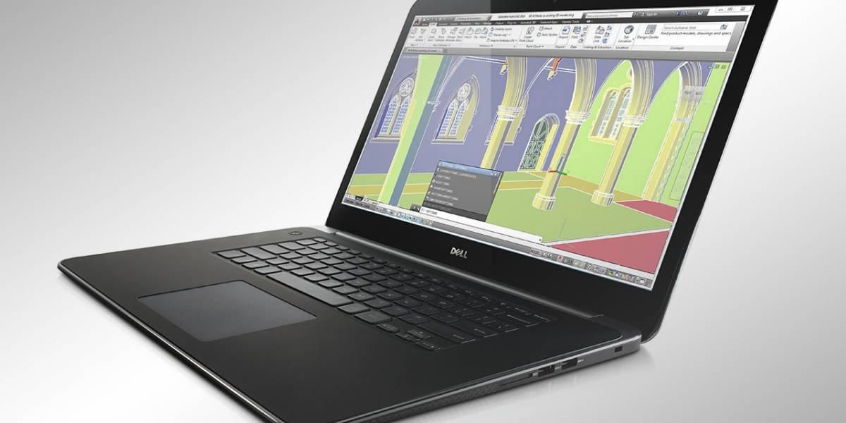 Dell estrena un nuevo notebook con pantalla de 3200 x 1800 y gráficos profesionales