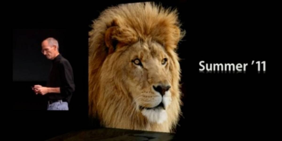 Principales características de Mac OS X Lion