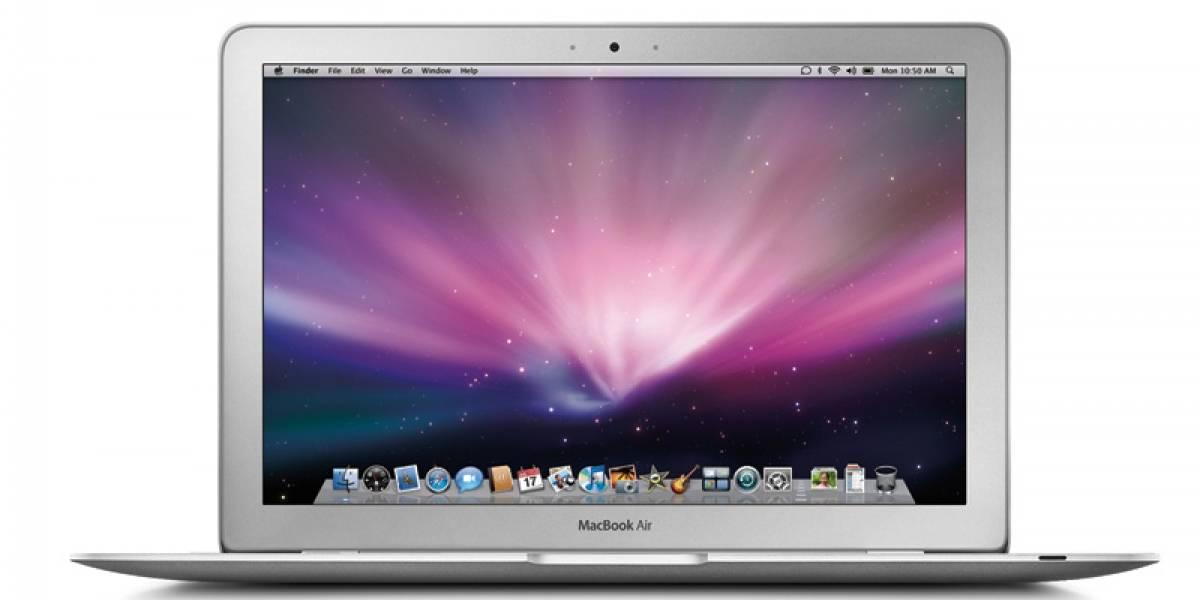 Futurología: Apple lanzará nuevos Macbook Air con Thunderbolt el próximo mes