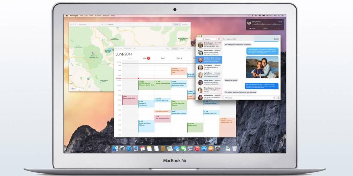 1 millón de personas podrán descargar la beta pública de OS X Yosemite