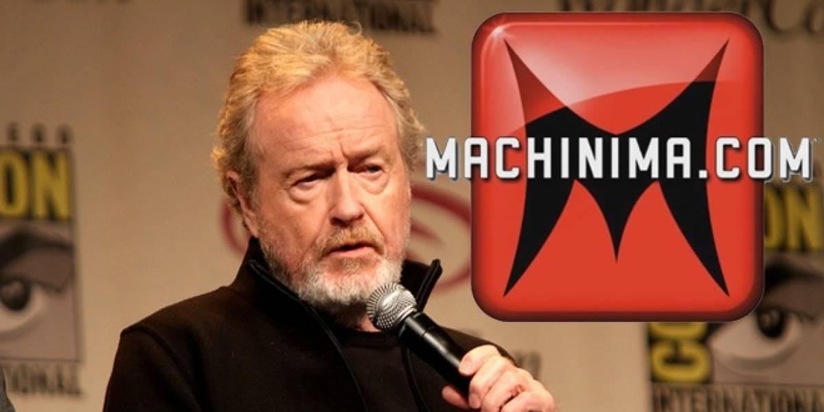 Ridley Scott producirá doce cortos de ciencia ficción para el canal de YouTube de Machinima