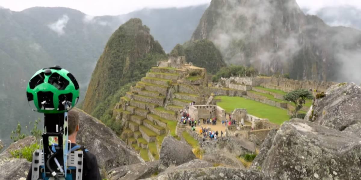 Pronto será posible conocer las ruinas de Machu Picchu a través de Google Street View
