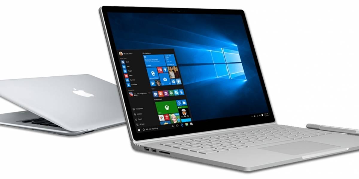 Microsoft quiere que los usuarios de Mac se pasen a la nueva Surface Book