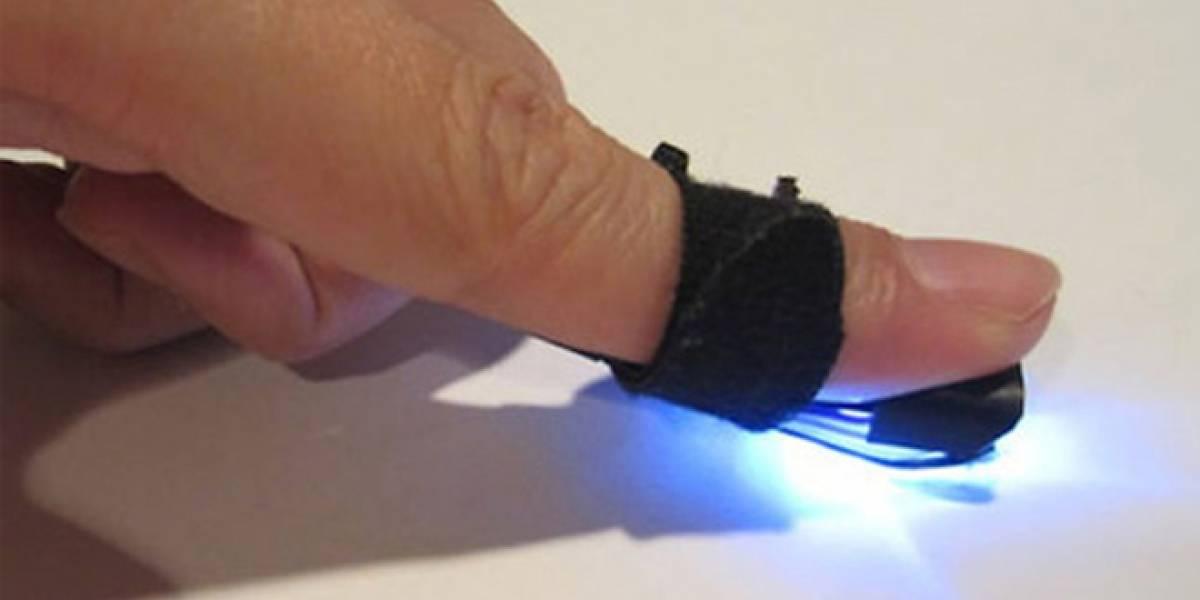 """Crean """"dedo mágico"""" para convertir en táctil cualquier superficie"""