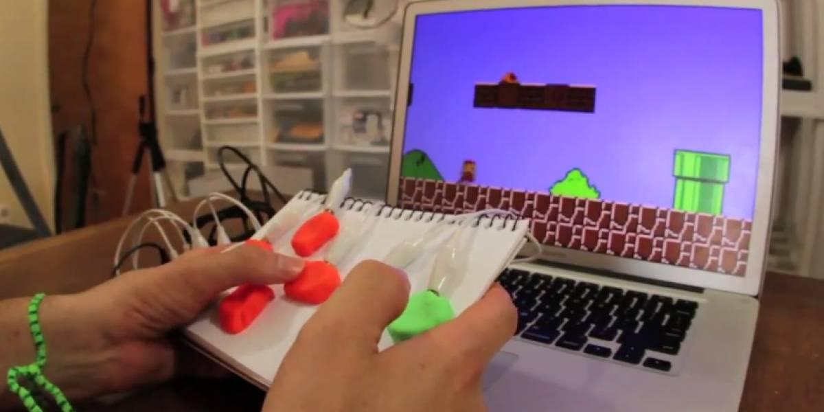 Makey Makey: El dispositivo que convierte casi cualquier superficie en una tecla o joystick