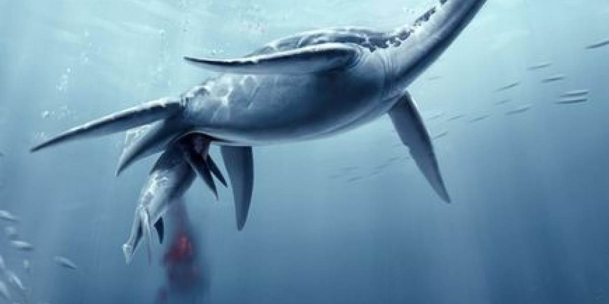 Poly, una monstruo marina embarazada