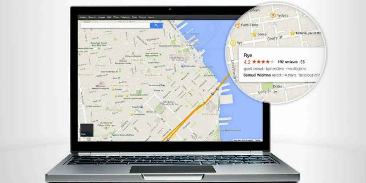 Se filtran los nuevos mapas de Google a pocas horas de su conferencia