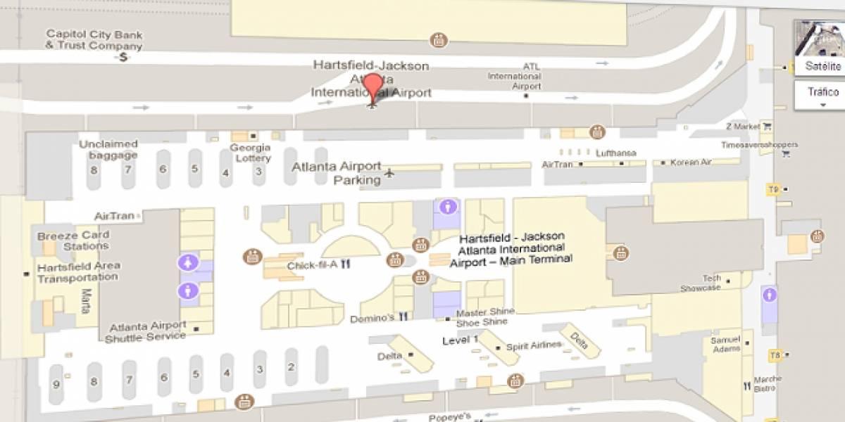 Ya se pueden ver los mapas interiores de edificios en Google Maps