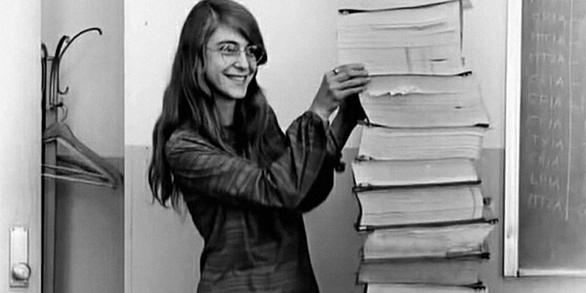 Ella es Margaret Hamilton, la primera ingeniera de software