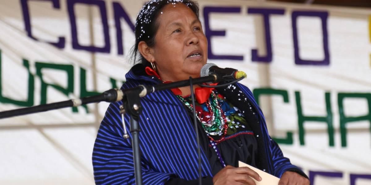 Periodistas presentan denuncia por asalto a caravana de Marichuy en Michoacán