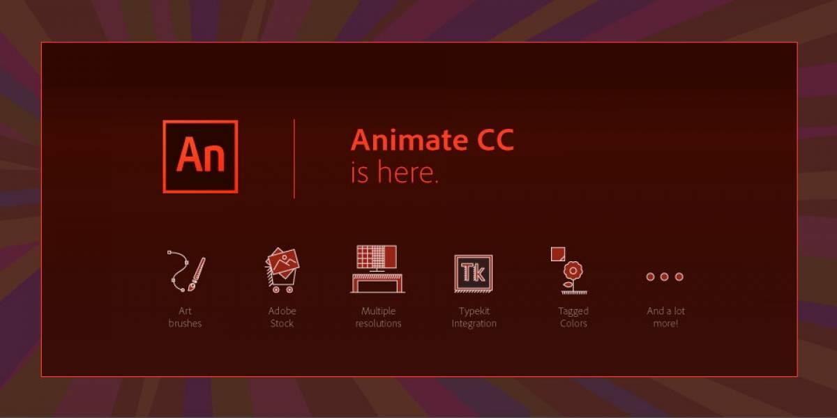Adiós Flash Professional, hola Animate CC