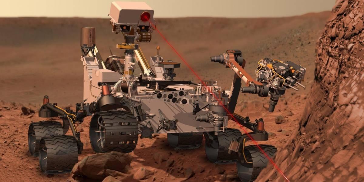 Curiosity encuentra químicos orgánicos en Marte
