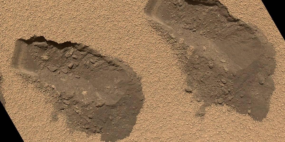 El suelo marciano contiene agua, según muestras captadas por Curiosity
