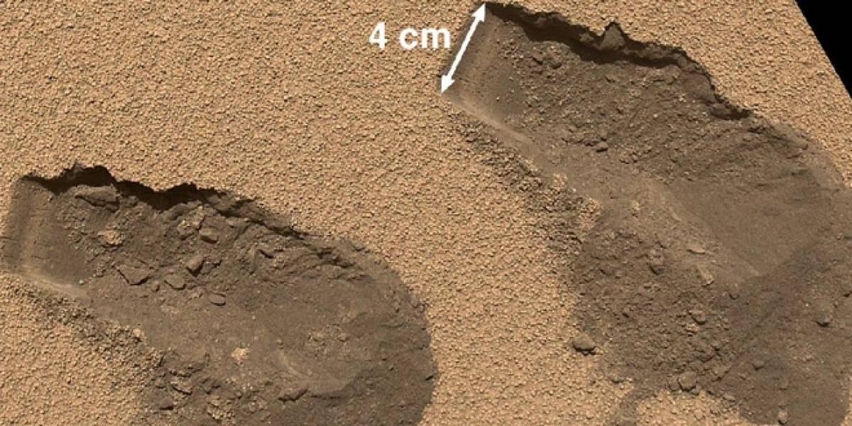 La NASA da pistas de compuestos orgánicos en Marte