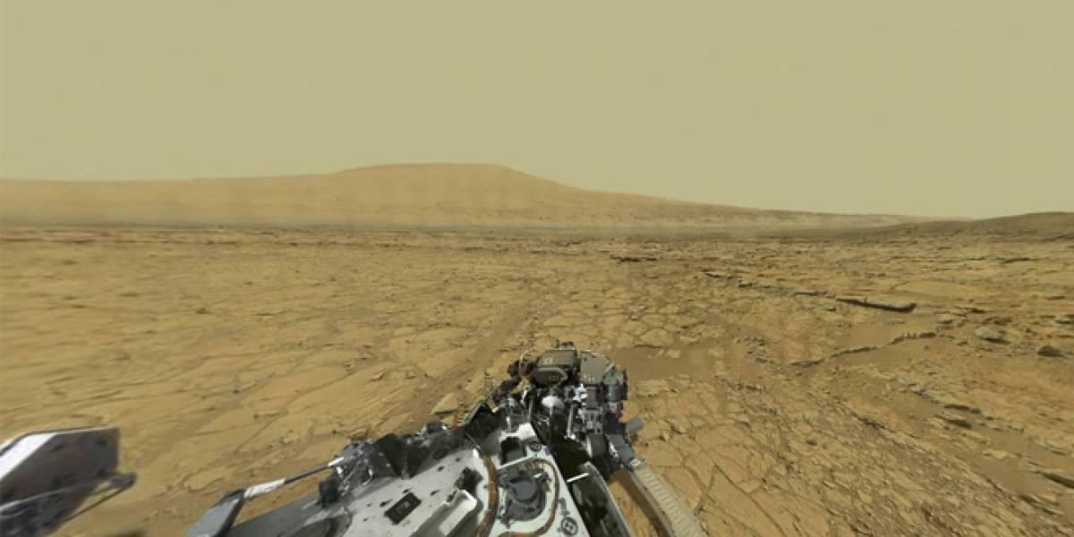 Imperdible: Imagen panorámica de Marte a 4.000 millones de pixeles