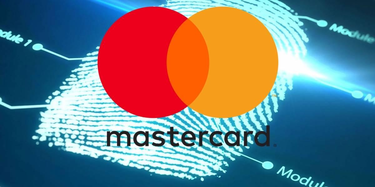Mastercard le pone un lector de huellas a su tarjeta de crédito